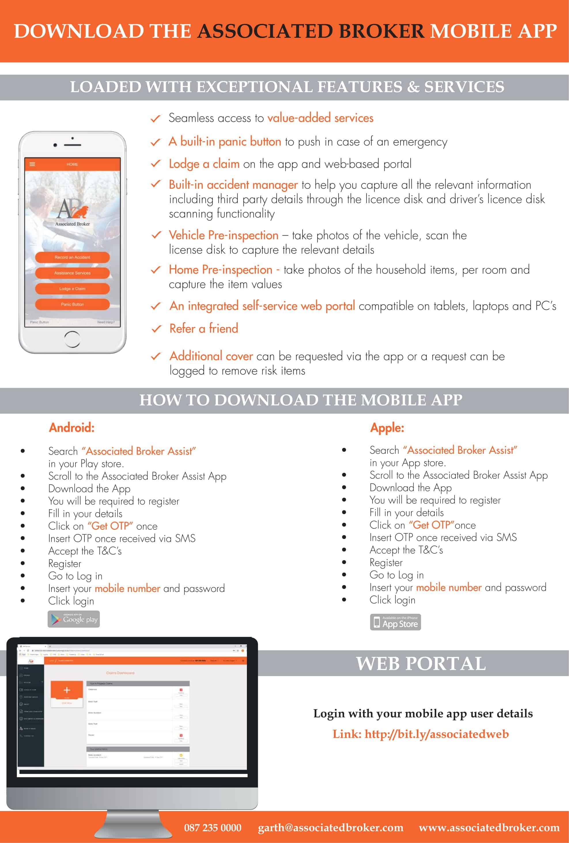 Associated Broker App